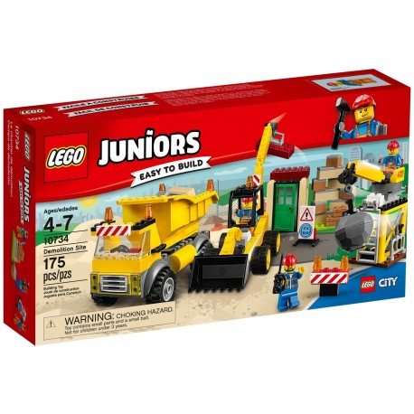 Lego Juniors 10734 Demolition Site
