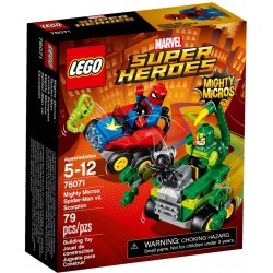 Lego Super Heroes 76071 Mighty Micros: Spider-Man vs Scorpion