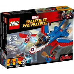Lego Marvel Super Heroes 76076 Captain America Jet Pursuit