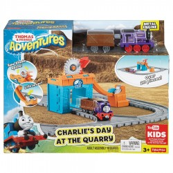 Thomas & Friends Thomas Adventures Charlie's Day at the Quarry (3+ Years)
