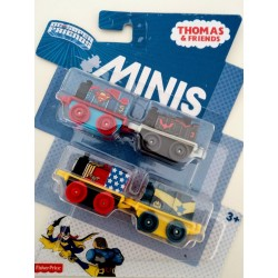 Thomas & Friends Minis DC Super Friends 4-Pack (3+ Years)