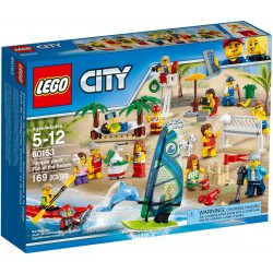 Lego City 60153 People Pack - Fun at the Beach