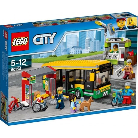 Lego City 60154 Bus Station