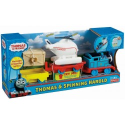 Thomas & Friends Push and Spin Thomas and Harold (18+ Months)