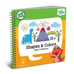 LeapFrog LeapStart Shapes and Colors with Creativity 30+ Page Activity Book (2-4 yrs)