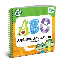 LeapFrog LeapStart Alphabet Adventures with Music 30+ Page Activity Book (2-4 yrs)