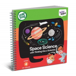 LeapFrog LeapStart Space Science with Thinking Like a Scientist 30+ Page Activity Book (5-7 yrs)