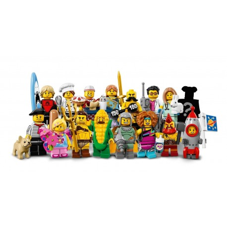 Lego Collectible Minifigures 71018 Series 17 Complete Box of 60
