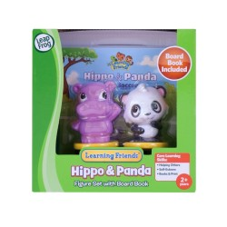 LeapFrog Learning Friends Hippo and Panda Figure Set with Board Book (2-5 yrs)