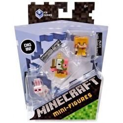 Minecraft Mini-Figure 3-Pack Series 5 Ice Series Num.2