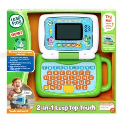 LeapFrog 2-in-1 LeapTop Touch (Green) (2-5 yrs)