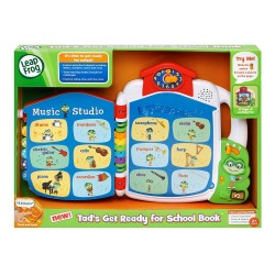 LeapFrog Tad's Get Ready for School Book (2-5 yrs)