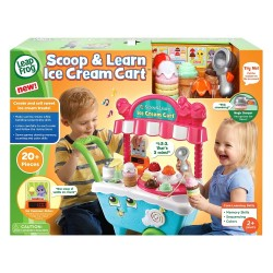 LeapFrog Scoop & Learn Ice Cream Cart (2-5 yrs)