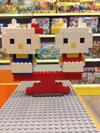 Lego Hello Kitty made at Mighty Utan