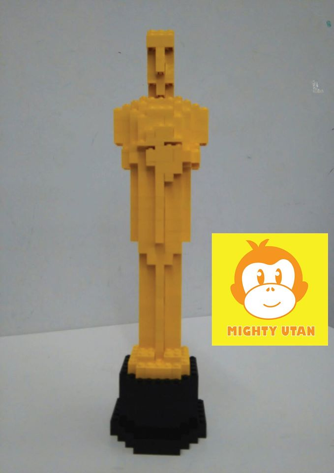 Lego Oscar made at Mighty Utan