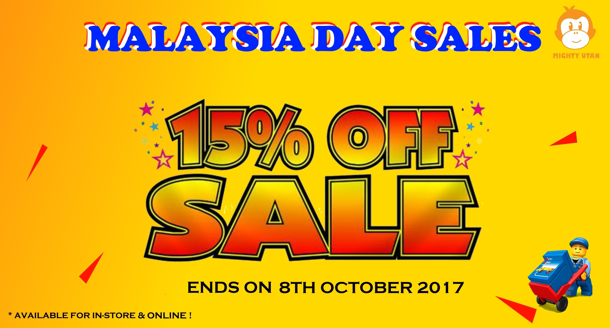 MALAYSIA NATIONAL DAY SALES 15% OFF