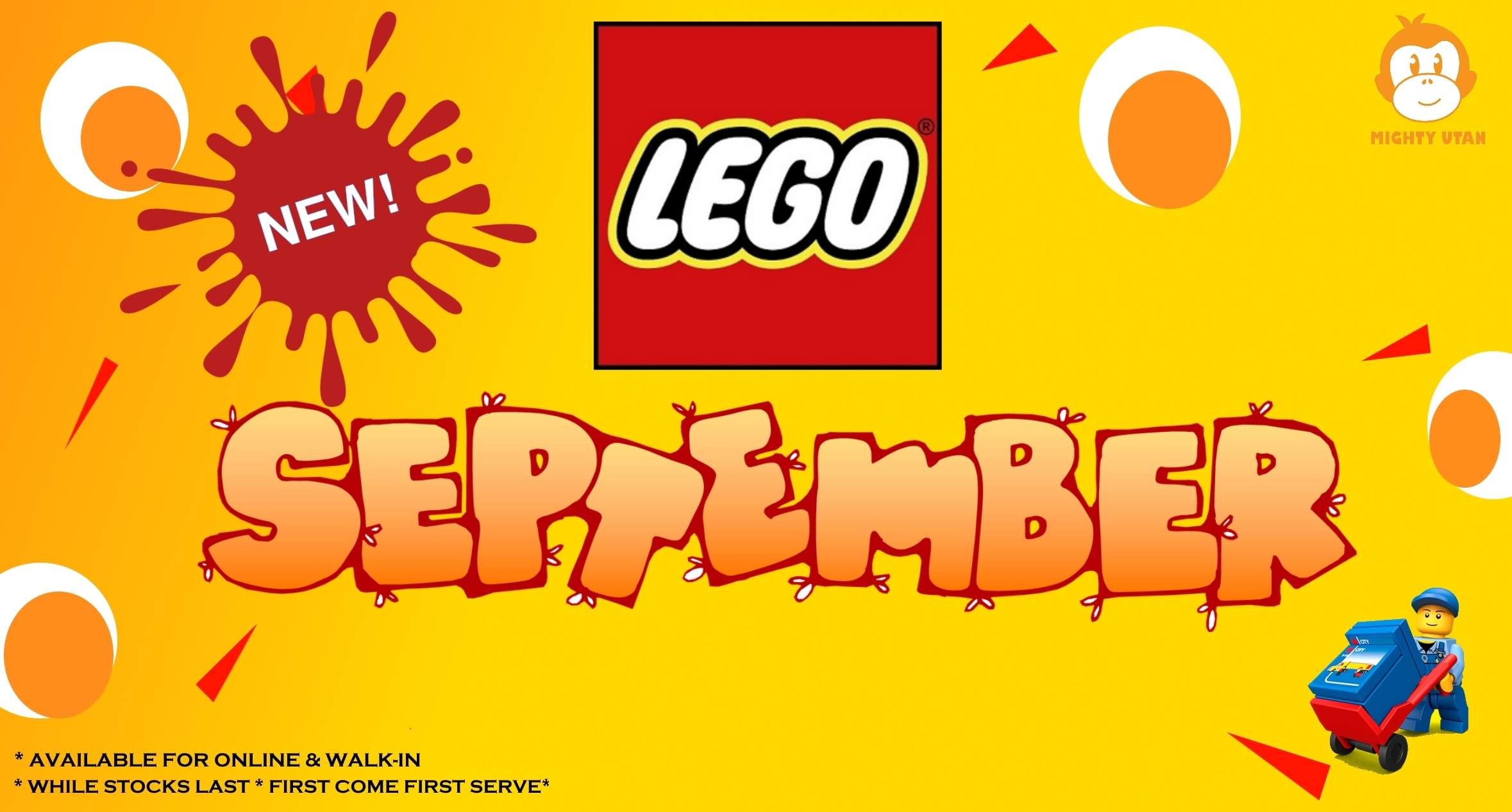 NEW SEPTEMBER LEGO SETS!