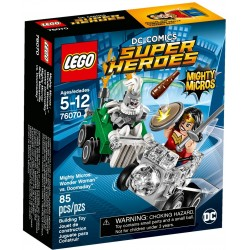 Lego DC Super Heroes 76070 Mighty Micros: Wonder Woman vs Doomsday