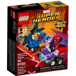Lego Marvel Super Heroes 76073 Mighty Micros: Wolverine vs Magneto