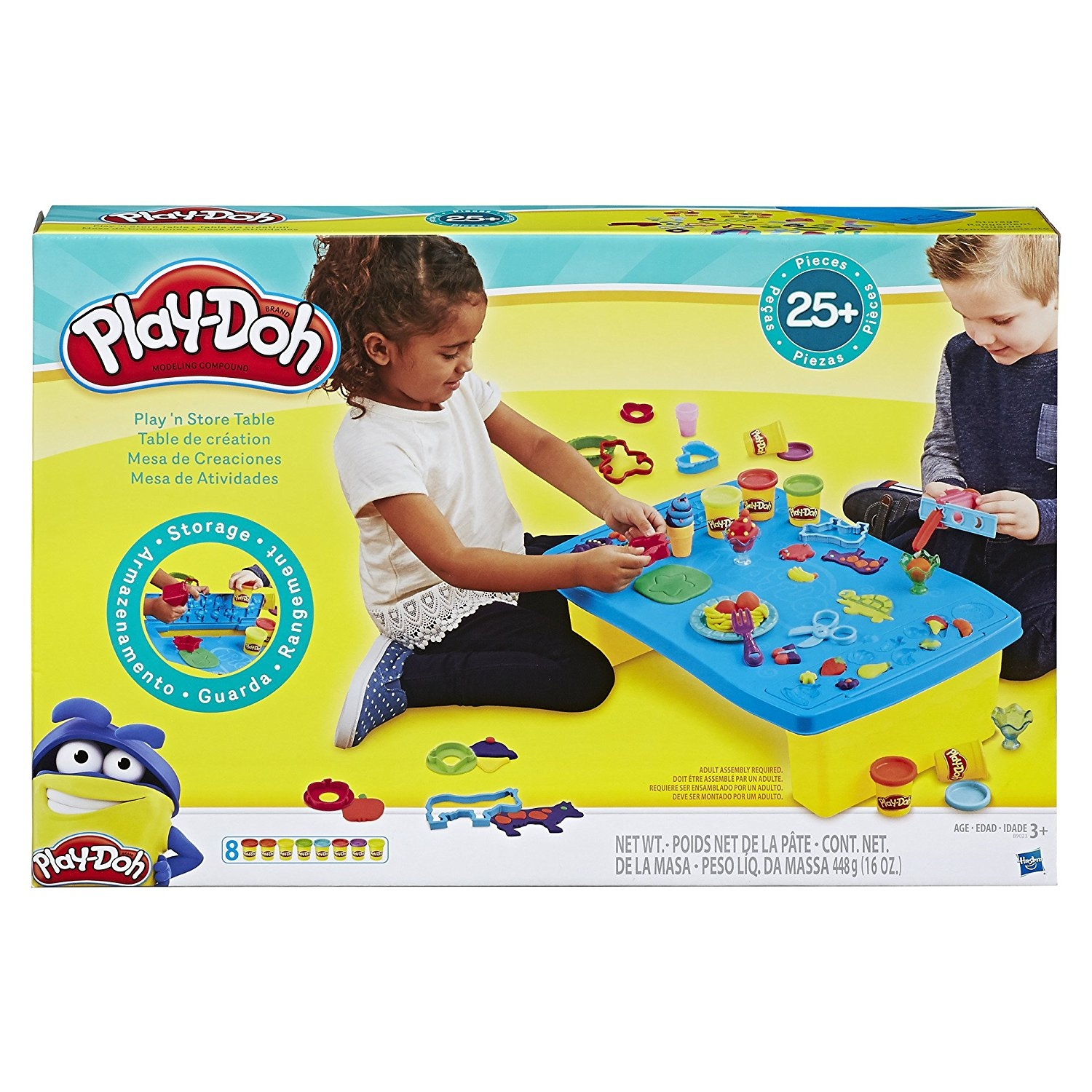 Play Doh Play And Store Table