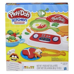 Play Doh Kitchen Creations Sizzling Stovetop