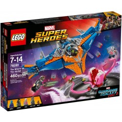 LEGO Marvel Super Heroes 76081 The Milano vs The Abilisk