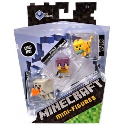 Minecraft Mini-Figure 3-Pack Series 5 Ice Series Num.1