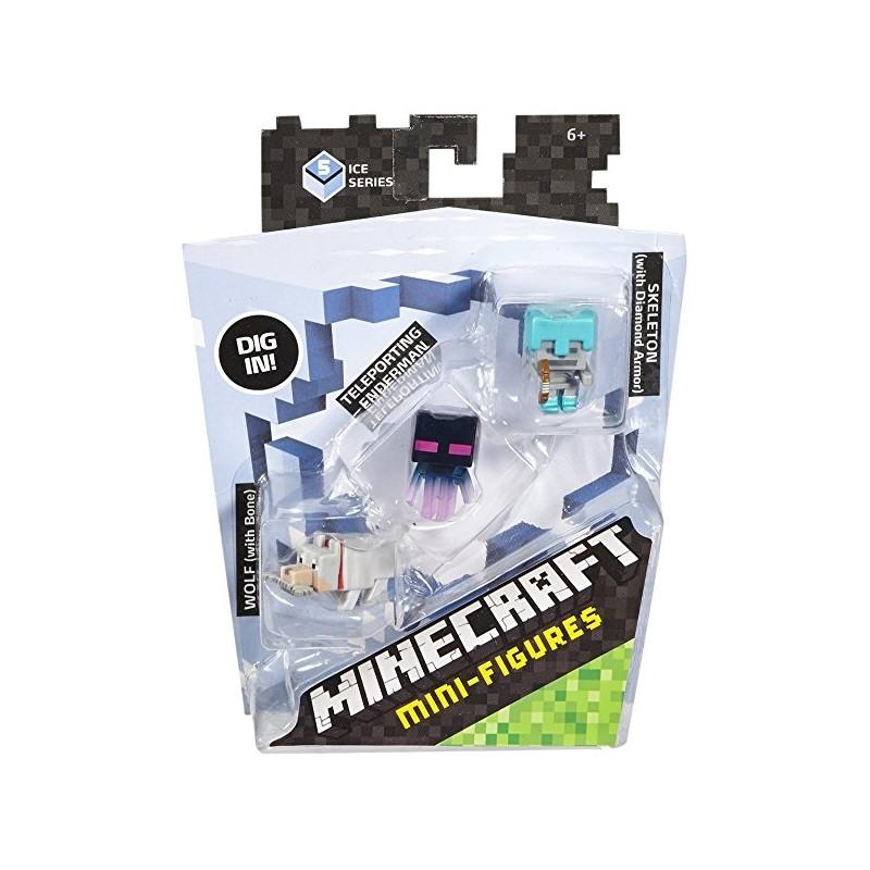 Minecraft Mini-Figure 3-Pack Series 5 Ice