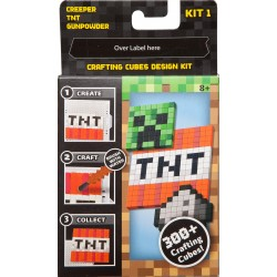 Minecraft Crafting Cube Design Refill Kit 1 (8+ Years)
