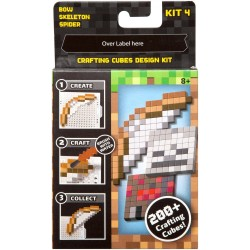 Minecraft Crafting Cube Design Refill Kit 4 (8+ Years)