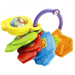 Fisher-Price Infant Shapes and Colors Keys (6 - 36 Months)