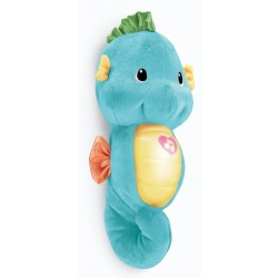 Fisher Price Infant Soothe and Glow Seahorse - Blue (0+ Months)
