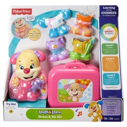 Fisher-Price Laugh & Learn Dress and Go Puppy (18 - 36 Months)