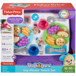 Fisher-Price Laugh & Learn Say Please Snack Set (18 - 36 Months)