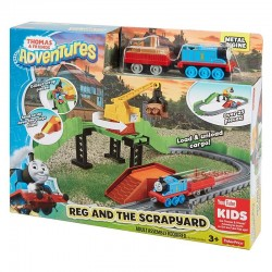 Thomas & Friends Thomas Adventures Reg at the Scrapyard (3+ Years)