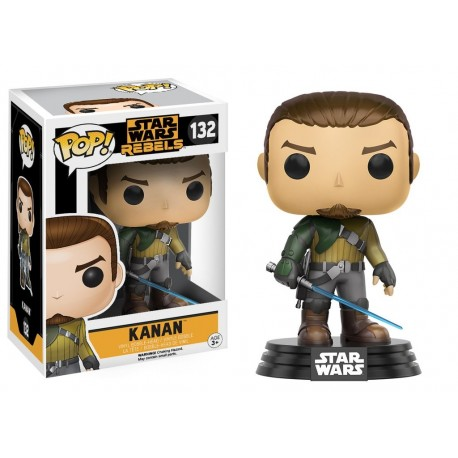 Funko Pop! Star Wars 132: Rebels - Kanan
