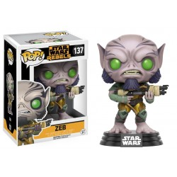 Funko Pop! Star Wars 137: Rebels - Zeb