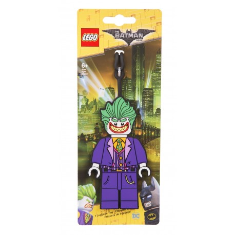 LEGO Batman Movie The Joker Luggage Tag