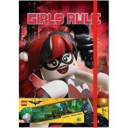 LEGO Batman Movie Harley Quinn/Batgirl Journal