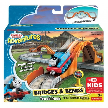 Thomas & Friends Thomas Adventures Bridges and Bends Track Pack (3+ Years)