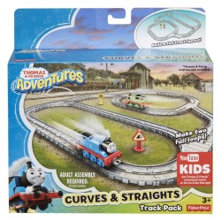 Thomas & Friends Adventures Straights and Curves Track Pack (3+ Years)