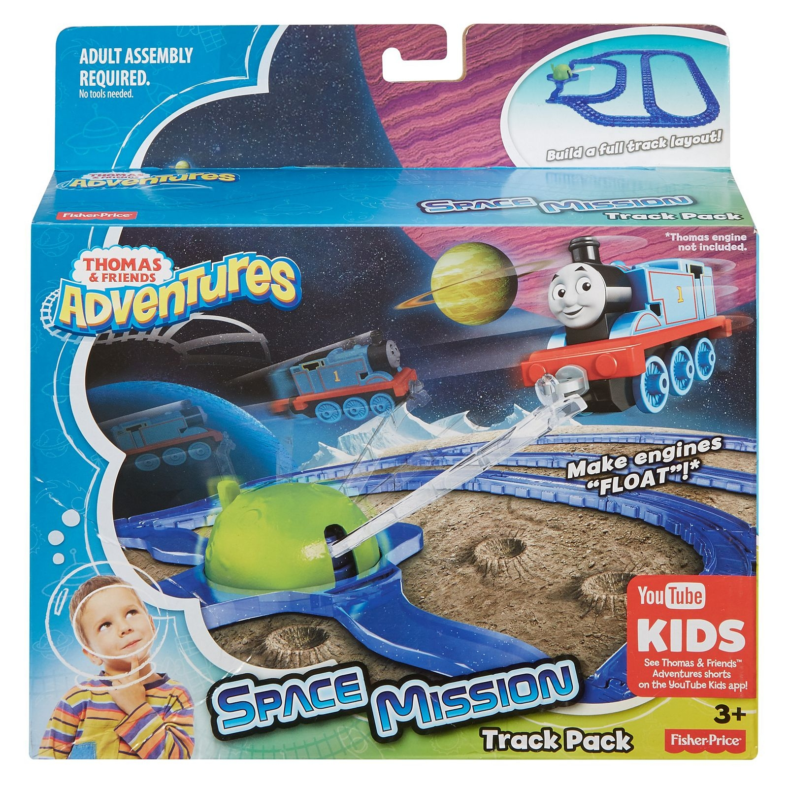 Thomas Amp Friends Thomas Adventures Space Mission Track