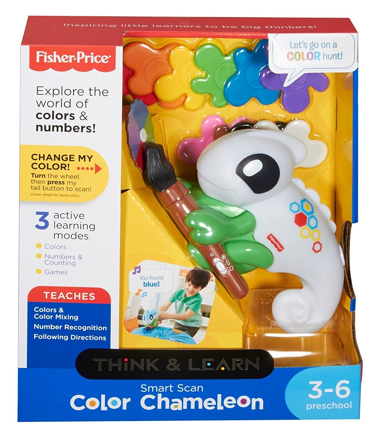 Fisher Price Think Amp Learn Smart Scan Color Chameleon 3