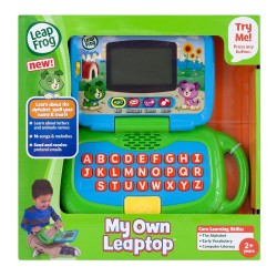 LeapFrog My Own Leaptop - Green (2-4 yrs)