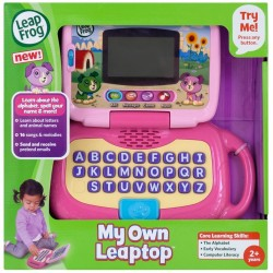 LeapFrog My Own Leaptop - Pink (2-4 yrs)