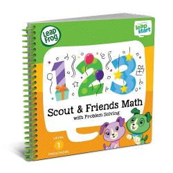LeapFrog LeapStart Scout and Friends Math with Problem Solving 30+ Page Activity Book (2-4 yrs)