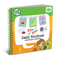 LeapFrog LeapStart Daily Routines with Health and Wellness 30+ Page Activity Book (2-4 yrs)