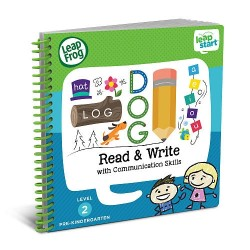 LeapFrog LeapStart Read & Write with Communication Skills 30+ Page Activity Book (3-5 yrs)