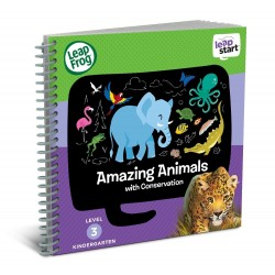 LeapFrog LeapStart Amazing Animals with Conservation 30+ Page Activity Book (4-6 yrs)