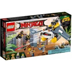 LEGO Ninjago Movie 70609 Manta Ray Bomber